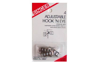 Singer Hook N' Eye Set (Case of 48)*