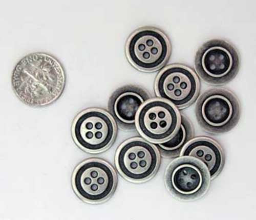 Two and Four Hole Buttons (Box of 144)