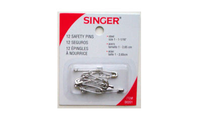 Safety Pins (Box of 12)