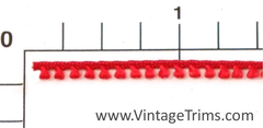 "Mini Loop Fringe Fabric Trim 1/8"" (288 Yard Roll) 4 Colors"