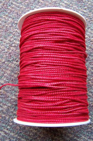 Metallic Red Cord, 250 Yds #90 (1 Roll)