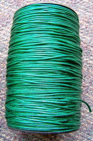Metallic Green Non-Elastic Cord, 250 Yd. Roll - Each*