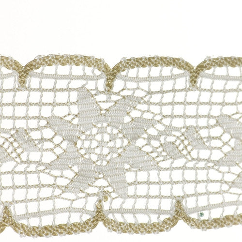 "2 5/8"" Lace- Cluny Fabric Trim"
