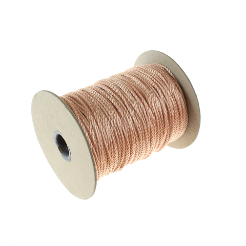 Wired Cord, Peach, 288 Yard Roll - Each