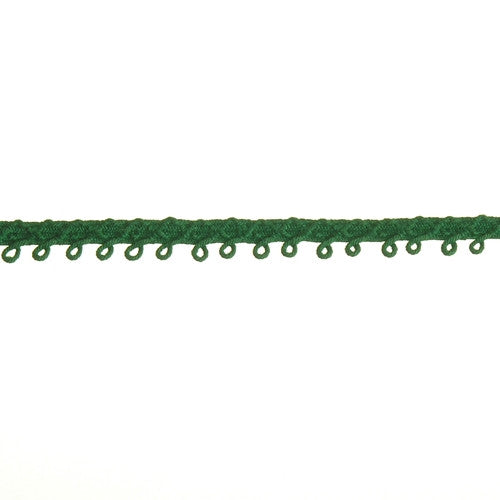 Loop Fringe $0.25/yard| Color| Kelly Green