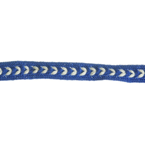 "Arrow Narrow Flat Braid 3/8"" (Per Yard) 3 Colors"