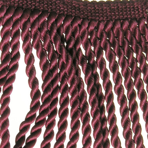 "Rayleen Collection Bullion Fringe 6""<br>(Per Yard)<br>Pale Burgundy"