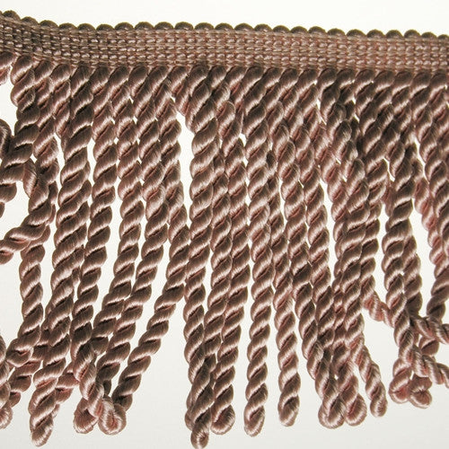 "6"" Dusty Rose Fringe- Bullion"