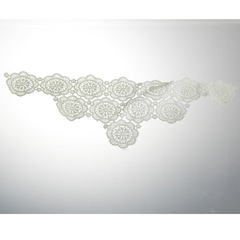 Venice Lace Applique (Case of 24) White