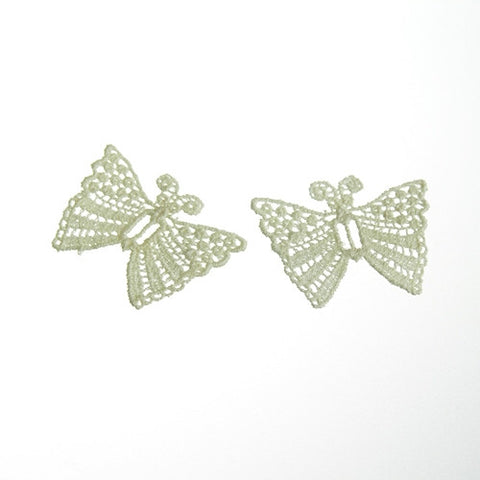 Venice Butterfly Applique (Case of 48)White