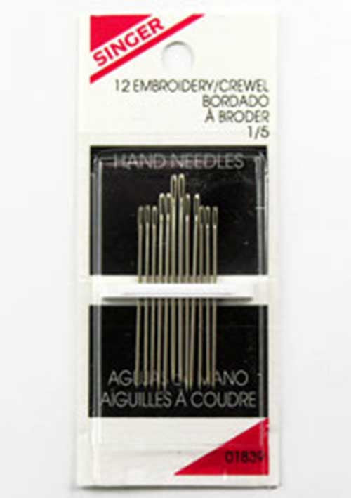 Embroidery Needles (Box of 12)