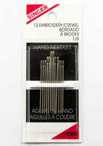 Singer Embroidery Needle, 12pk (Case of 48)*