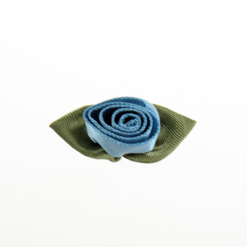 "Satin 1"" Rolled Rosettes (25 colors)"