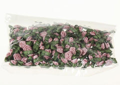 "Satin Roses 7/16"" 20 colors, 288 bows each (#3)"