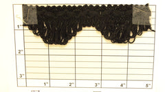 "Loop Fringe w/Braid 1-1/2"" (Per Yard) 5 Colors"