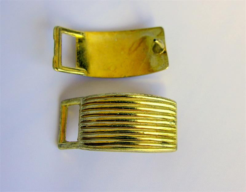 "Gold 2"" Buckle with Prong (Box of 25)"