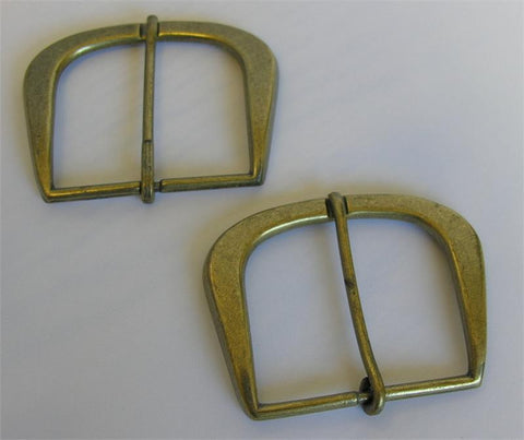 Brass Buckle (Box of 25) (#105)