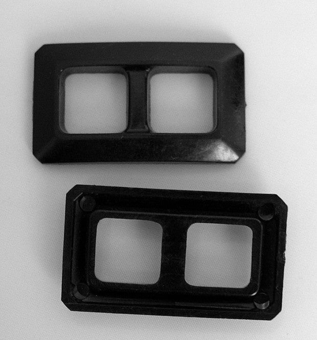 Black Plastic Buckle (Box of 25)