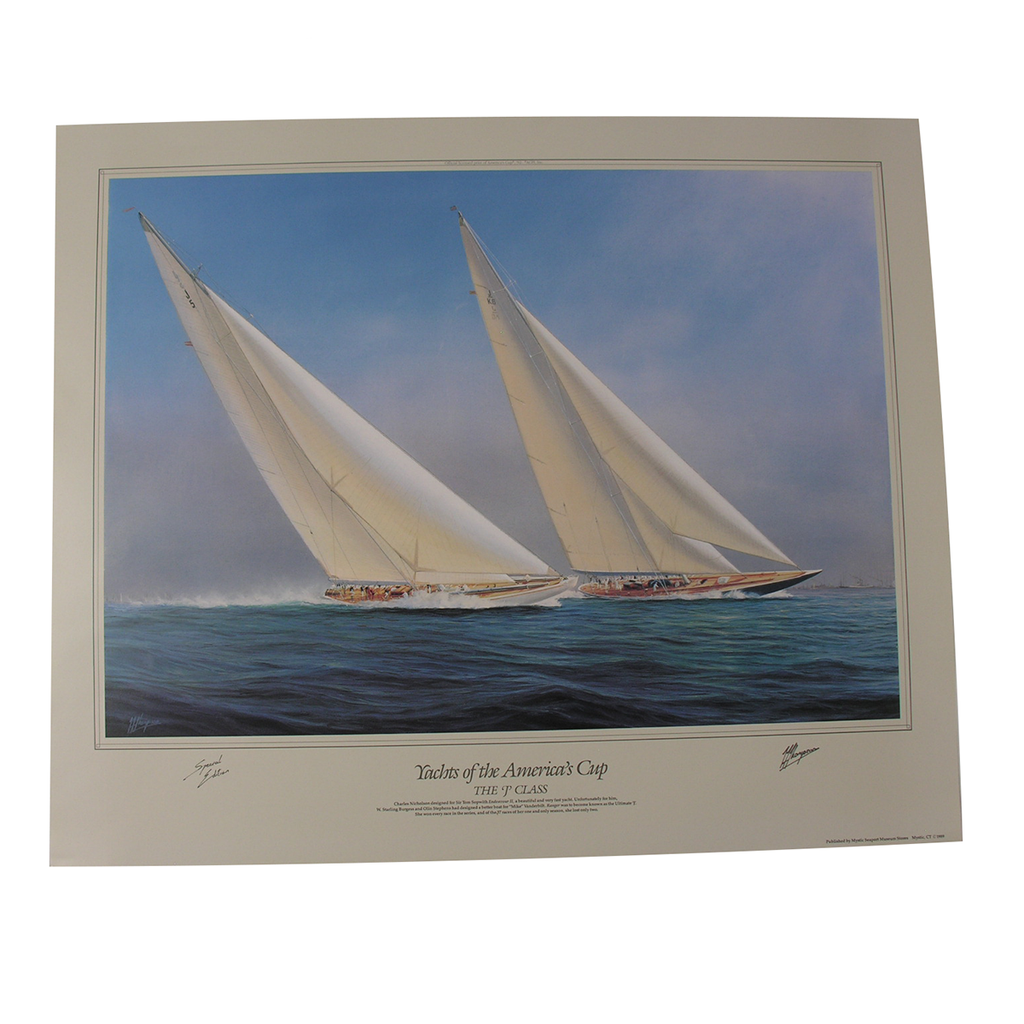 "Tim Thompson ""Yachts of the America's Cup"" Series Prints (4 lithograph collection)*"