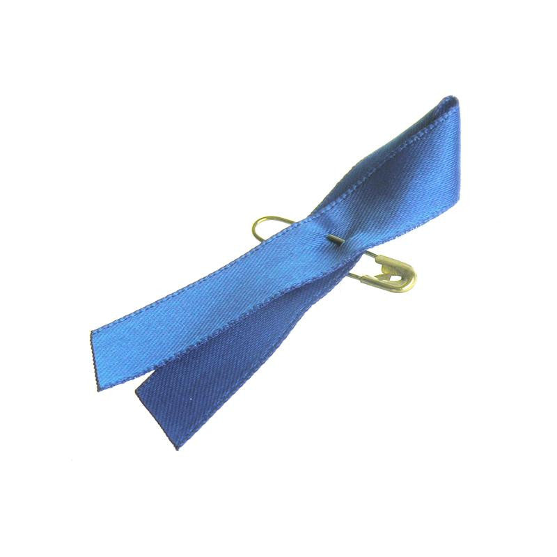 Royal Blue Awareness Bows (Box of 300)