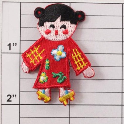 China doll applique
