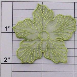 Nylon flower applique 4 colors
