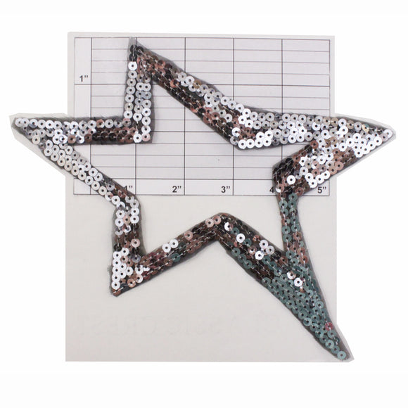 Extra large star applique