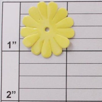 Shiny daisy applique 10 colors ( 12 per bag )