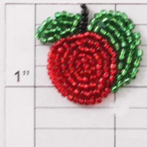 Beaded fruit applique 4 styles