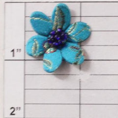 "1"" oriental flower 3 colors"