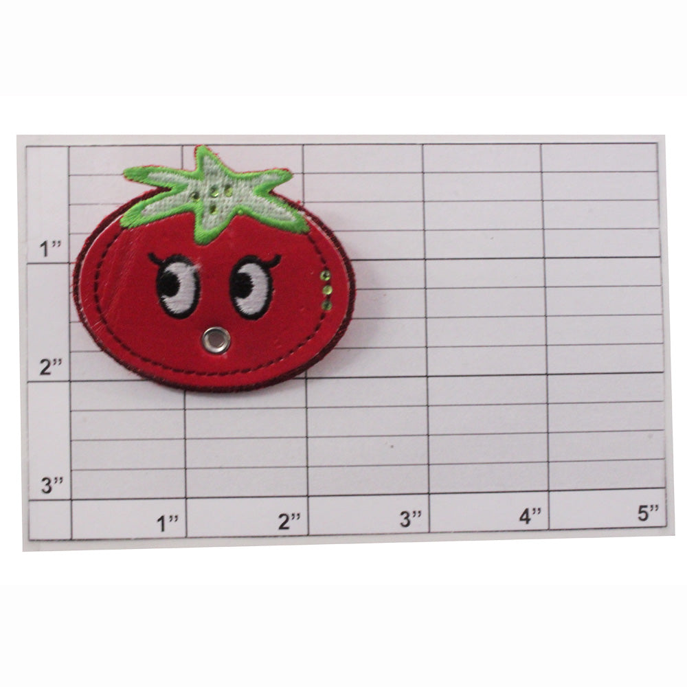 Tomato pin back broach