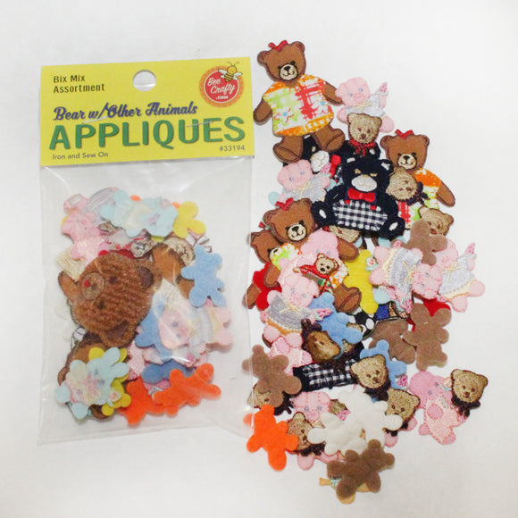 Bears & Other Animals Appliques