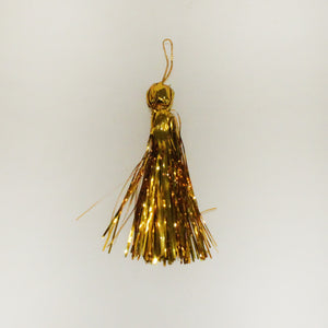 "4"" Gold Metallic Tassels"