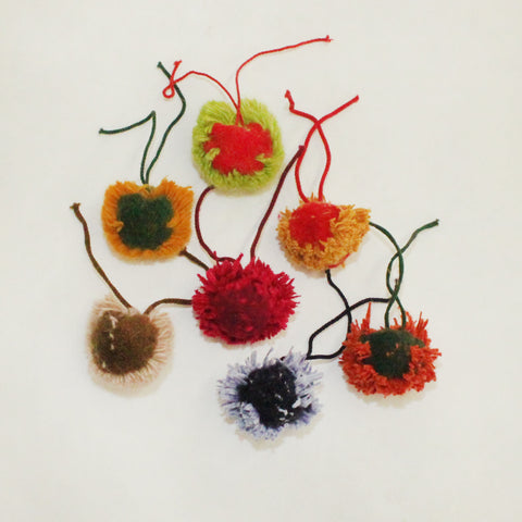 "1.5"" Fun Multi-Color Pom-Poms"