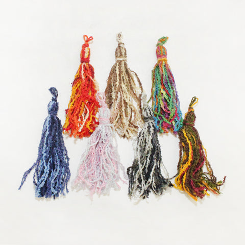 "4"" Chenille Color Tassels"