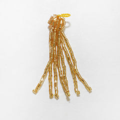"1-3/4"" Beaded Glass Tassel"