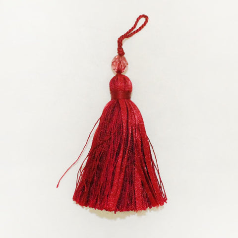 "3"" Rayon Tassel with Bead"