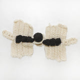 "5"" Crochet Dragonfly Frog Knot Closure - 10 sets"