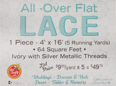 All Over Flat Lace