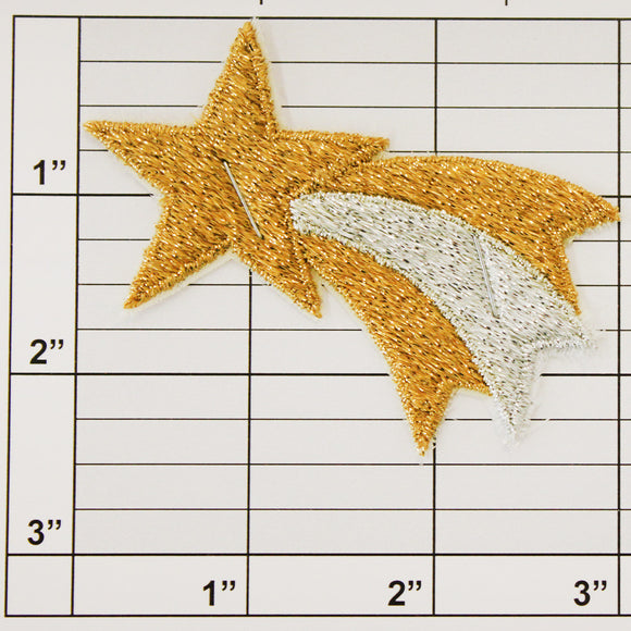 Shooting Star Applique