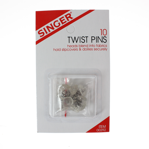 Singer Upholstery Twist Pins, 10pk (Case of 48)*