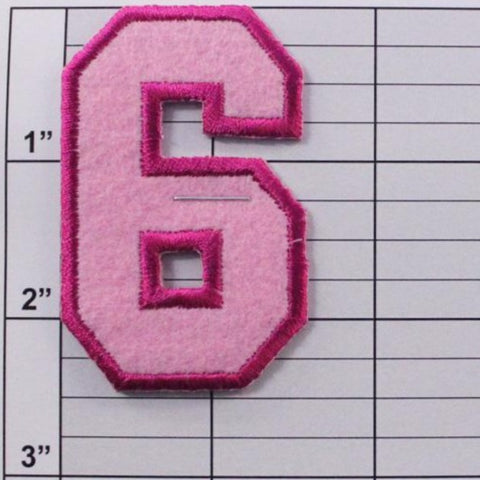 6 or 9 applique 5 colors