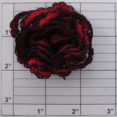 Spanish rose applique 3 colors