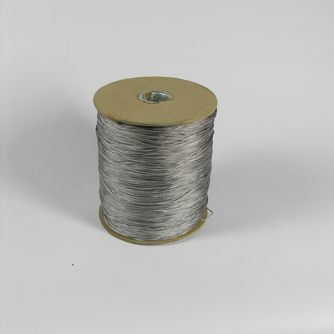 Silver Gray Chainette Thread - Each *