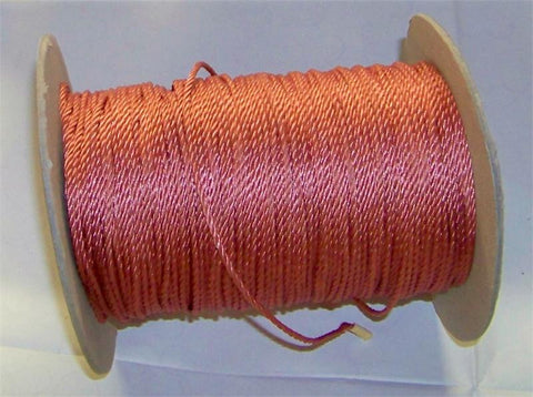 Wired Cord, Rose, 288 Yard Roll - Each