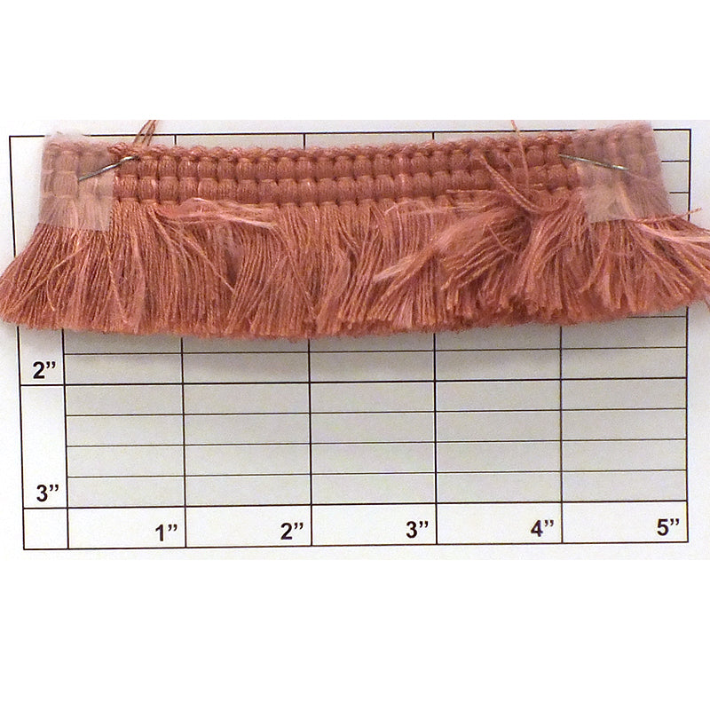 "Wright's Brush Fringe 1-1/2"" (Per Yard) 4 Colors"
