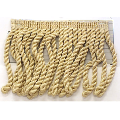 "Rayleen Collection Bullion Fringe 6""<br>(Per Yard)<br>Desert Beige"