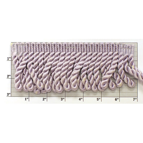 "Rayleen Collection Bullion Fringe 3""<br>(Per Yard)<br>Pale Violet"