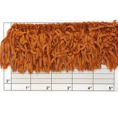 "Versaille Solid Color Rayon Chenille Fringe 2-1/2"" (Per Yard) 38 Colors"