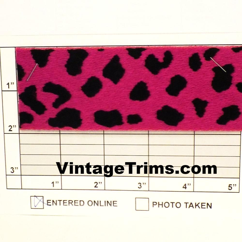 "Leopard Jacquard 2"" (Per Yard) 3 Colors"